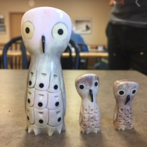 Some of Johnny's owls