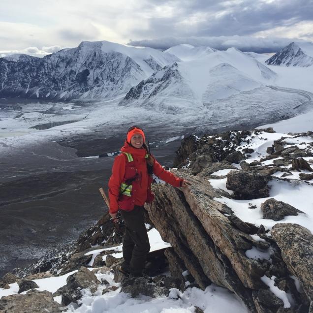 Standard mountain pose